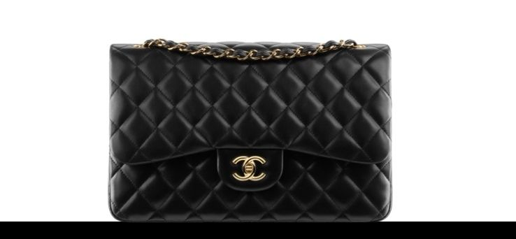chanel cc lock classic flap bag torebka