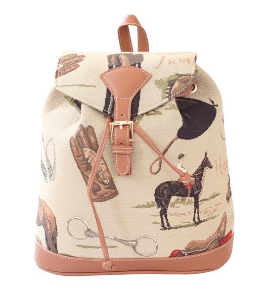 Want Have It plecak z motywem jeździeckim