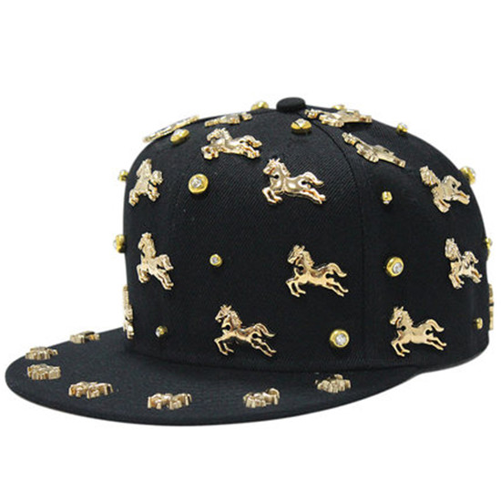 Want Have It baseball-caps-hip-hop-style-horse-design-