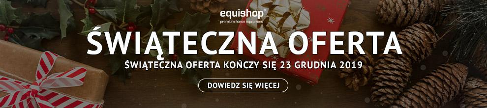 Bożonarodzeniowe promocje jeździeckie w Equishop